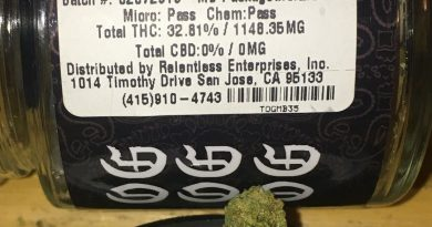 triple og by the fire society strain review by trunorcal420