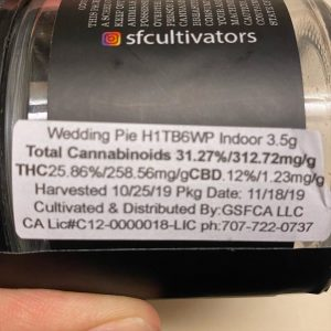 wedding pie by sf cultivators strain review by trunorcal420 3