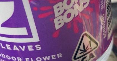 Bon Bons by Seven Leaves Strain review by sjweedreview