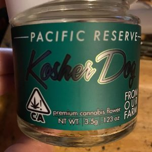 kosher dog by pacific reserve strain review by trunorcal420 3