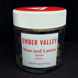 now and laters by ember valley strain review by thefirescale 2