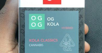 og kola by cherry kola farms strain review by sjweedreview