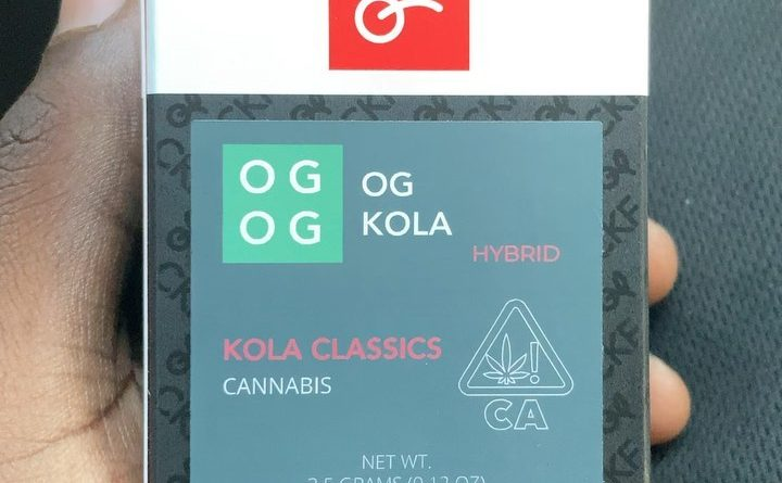 og kola by cherry kola farms strain review by sjweedreview