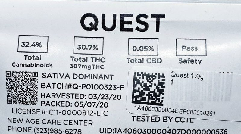 quest by source cannabis strain review by thefirescale 2