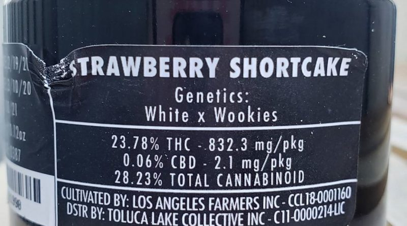 strawberry shortcake by jungle boys strain review by thefirescale
