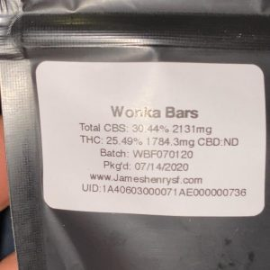 wonka bars by frosty flowers strain review by trunorcal420 3
