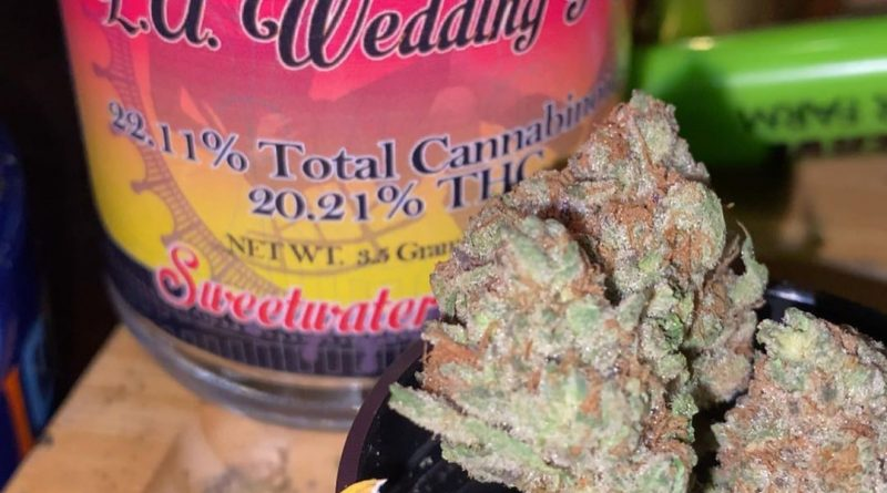 la wedding pop by sweetwater pharms strain review by trunorcal420 3
