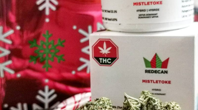 mistletoke by redecan strain review by cannasteph