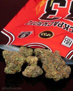 #33 scottie pippen by backpack boyz strain review by thefirescale 2