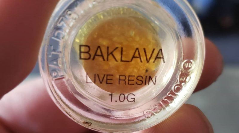 baklava live resin by field extracts concentrate review by cannasaurus_rex_reviews 2