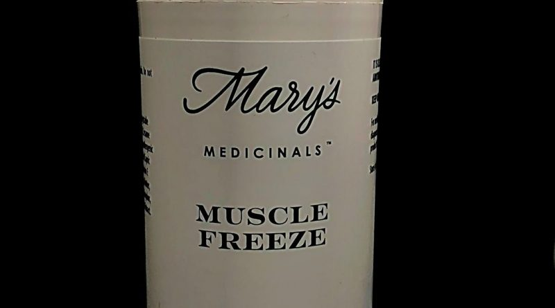 muscle freeze by mary's medicinals topical review by shanchyrls