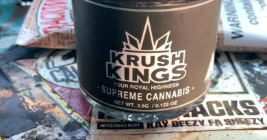 royal wafer by krush kings strain review by sjweereview