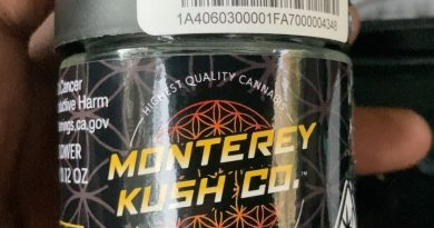 wedding cake by monterey kush co strain review by sjweedreview