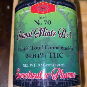 animal mints bx1 by sweetwater pharms strain review by trunorcal420