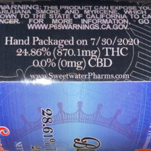 blueberry g by sweetwater pharms strain review by trunorcal420 3