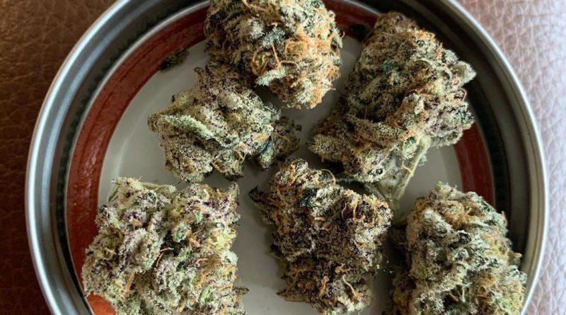 marmalade (grape ape x platinum og kush) strain review by christianlovesccannabis