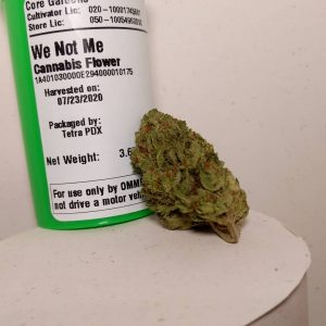 we not me by core gardens strain review by pdxstoneman