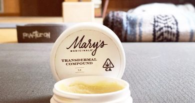 1 to 1 transdermal compound by mary's medicinals topical review by anna.smokes.canna