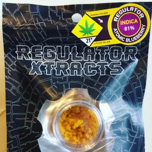 atomic blueberry crumble by regulator xtracts concentrate review by 502strainsheet 2