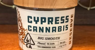 big smooth by cypress cannabis strain review by canu_smoke_test