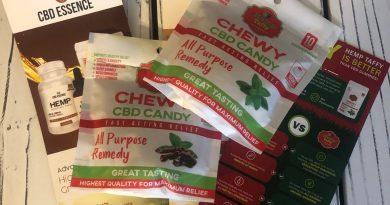 cbd essence hemp taffy review