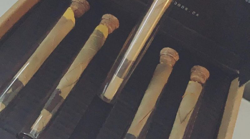 ebony leaf preroll by herbal goods company rolling review by brandiisbaked