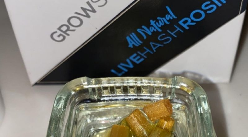 forbidden pastry live hash rosin by grow sciences concentrate review by slumpysmokes