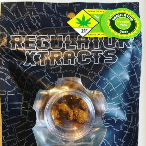 gg#4 sugar wax by regulator xtracts concentrate review by 502strainsheet 3