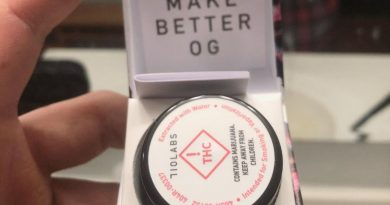 grease bucket #5 live rosin by 710 labs concentrate review by extractedbyzack