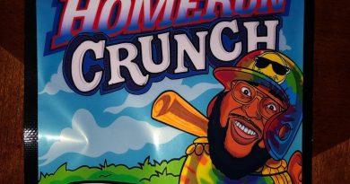 homerun crunch strain review by qsexoticreviews