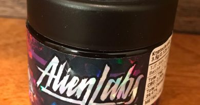 kryptochronic by alien labs strain review by canu_smoke_test