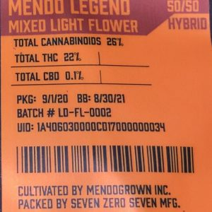 mendo legend by mendo strain review by trunorcal420 2