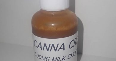 milk chocolate sauce by canna creations edible review by the_originalcannaseur