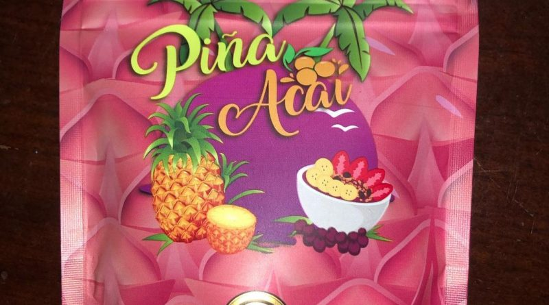 pina acai by grandiflora strain review by qsexoticreviews