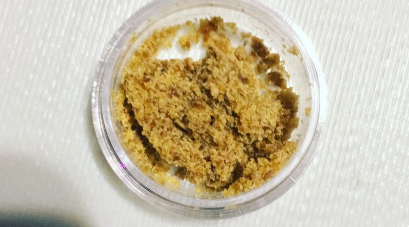 pink champagne crumble by slab mechanix concentrate review by 502strainsheet