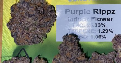 purple rippz by seed junky genetics strain review by trunorcal420 3
