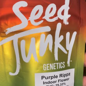 purple rippz by seed junky genetics strain review by trunorcal420
