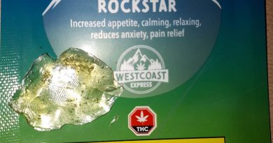 rockstar shatter by west coast express concentrate review by hippie_budz