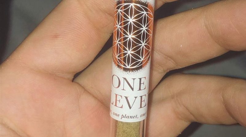 rosin stick by one eleven farms pre-roll review by extractedbyzack