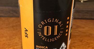 sfv by original intelligence strain review by can_u_smoke_test
