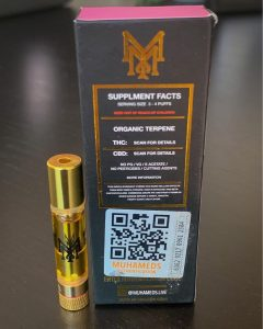 sunday driver cartridge by muha meds vape review by budfinderdc 2