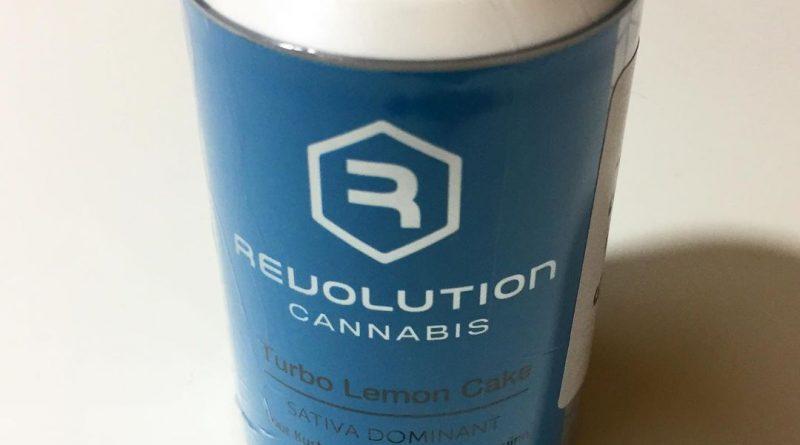 turbo lemon cake by revolution cannabis strain review by fullspectrumconnoisseur