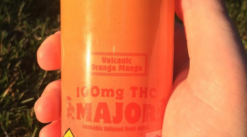 volcanic orange mango by major drinkable review by 502strainsheet