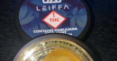 lilac diesel #3 rosin by leiffa concentrates dab review by no.mids