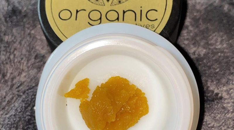 tropicalia og live resin by organic alternatives concentrate review by no.mids