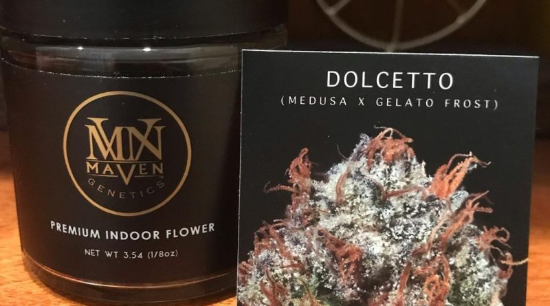 dolcetto by maven genetics strain review by can_u_smoke_test