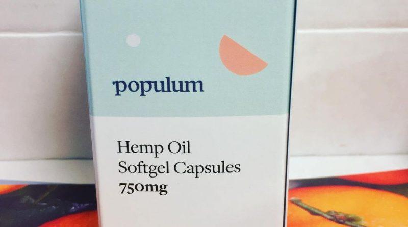 hemp oil capsules by populum cbd review by 502strainsheet