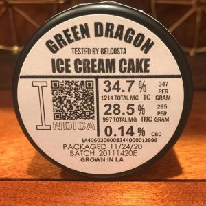 ice cream cake by green dragon strain review by can_u_smoke_test2