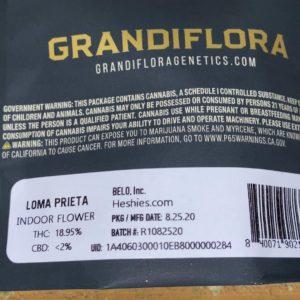 loma prieta by grandiflora genetics strain review by trunorcal420 2