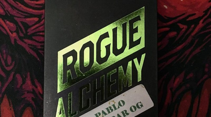 pablo escobar og shatter by rogue alchemy concentrate review by scubasteveoc